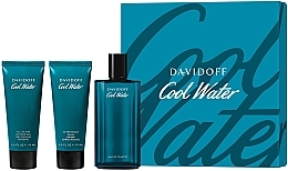 Parfumuri și produse cosmetice Davidoff Cool Water - Set (edt/125ml + sh/gel/75ml + ash/balm/75ml)