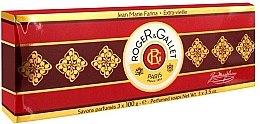 "Set trei săpunuri parfumate ""Jean Marie Farina"" - Roger & Gallet Jean Marie Farina Perfumed Soaps (soap/3x100g ) — Imagine N4"