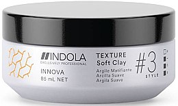 Parfumuri și produse cosmetice Adeziv pentru păr - Indola Innova Texture Soft Clay