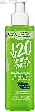 Parfumuri și produse cosmetice Gel de curățare pentru față - Under Twenty Anti Acne Sensetive Washing Gel With Antibacterial Effect