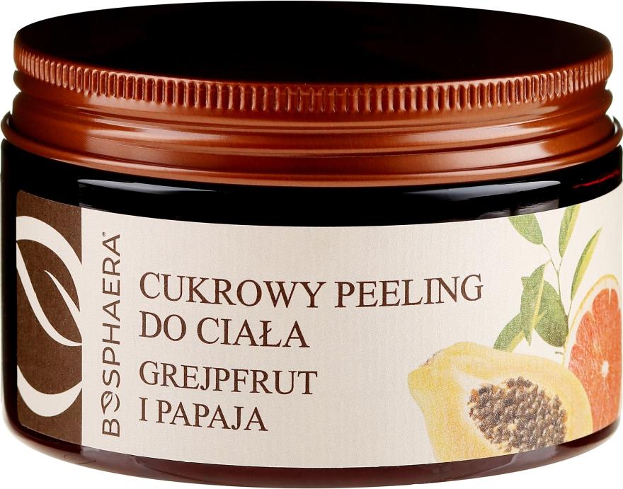 """Peeling pentru corp """"Grapefruit și papaya"""" - Bosphaera"""