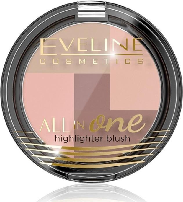Fard de obraz - Eveline Cosmetics All In One Highlighter Blush