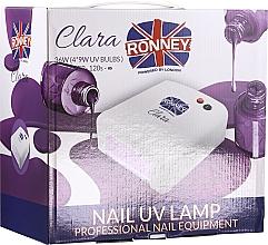 Parfumuri și produse cosmetice Lampă UV pentru unghii, violet deschis - Ronney Profesional Clara UV 36W (GY-UV-818) Lamp