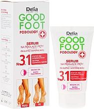 Parfumuri și produse cosmetice Ser regenerant și hidratant pentru picioare - Delia Good Foot