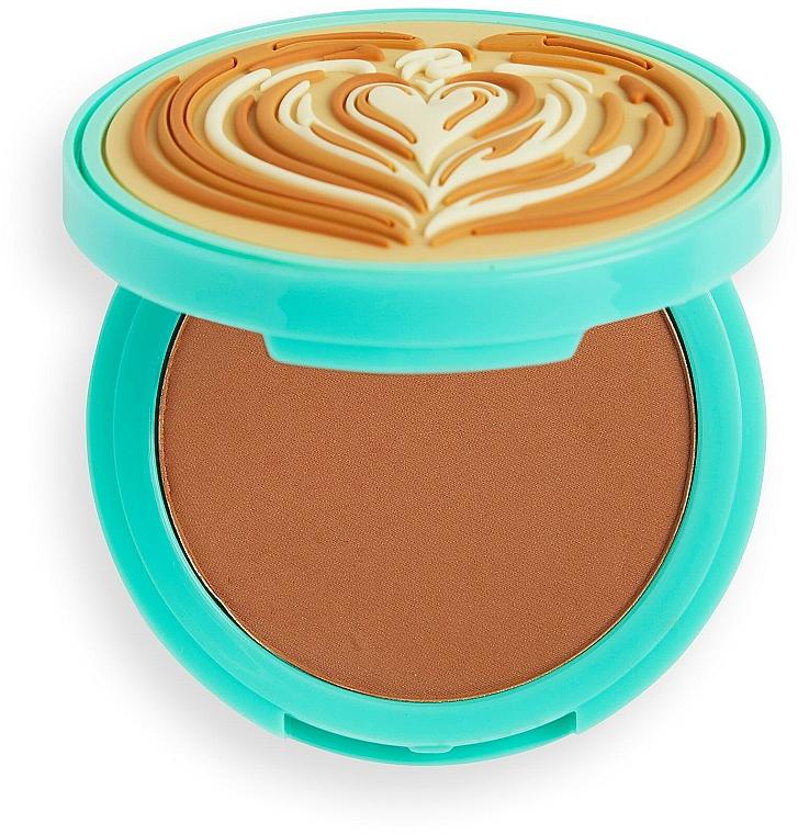Bronzer pentru față - I Heart Revolution Tasty Coffee Bronzer