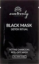 Parfumuri și produse cosmetice Set măști de curățare pentru față - One&Only Cosmetics For Face Black Mask Detox Ritual