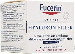 Parfumuri și produse cosmetice Cremă de față - Eucerin Hyaluron-Filler Night