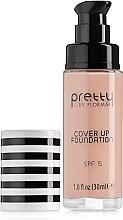 Parfumuri și produse cosmetice Fond de ten - Flormar Pretty Cover Up Foundation