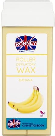 """Ceară depilatoare, cartuș """"Banană"""" - Ronney Professional Wax Cartridge Banana — Imagine N1"""