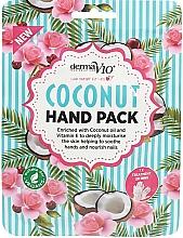 Parfumuri și produse cosmetice Mască cu nucă de cocos pentru mâini - Derma V10 Coconut Hand Pack