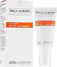 Parfumuri și produse cosmetice Cremă de protecție solară pentru față - Bella Aurora Solar Protector Anti-Age SPF50+
