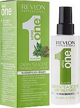 Parfumuri și produse cosmetice Mască-Spray pentru păr - Revlon Professional Uniq One Green Tea Scent Hair Treatment