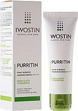 Parfumuri și produse cosmetice Cremă de noapte pentru față - Iwostin Purritin Reducing Imperfections Night Cream