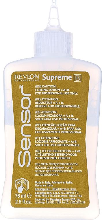 Soluție pentru păr vopsit și aranjare chimică - Revlon Professional Sensor Perm-Supreme — Imagine N10
