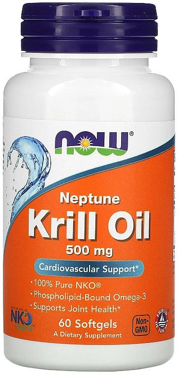Ulei de krill, 500 mg - Now Foods Neptune Krill Oil Softgels