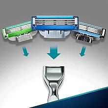 Aparat de ras clasic cu 2 casete rezervă - Gillette Mach 3 Turbo — Imagine N6