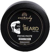 Parfumuri și produse cosmetice Pastă de păr - One&Only Cosmetics For Beard&Hair Fixing Paste With Fibres