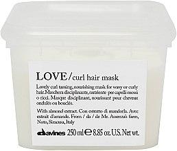 Parfumuri și produse cosmetice Mască hidratantă pentru păr - Davines Love Curl Hair Mask
