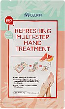 Parfumuri și produse cosmetice Ulei pentru mâini - Celkin Refreshing Multi Step Hand Treatment
