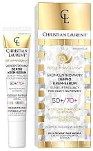 Parfumuri și produse cosmetice Ser dermo-crem concentrat pentru pielea din jurul ochilor 50/70 + - Christian Laurent Botulin Revolution Concentrated Dermo Cream-Serum