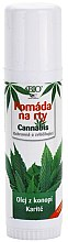 Parfumuri și produse cosmetice Balsam de buze - Bione Cosmetics Cannabis Lip Balm with Shea Butter
