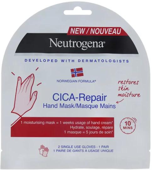 Mască regenerantă pentru mâini - Neutrogena Cica-Repair — Imagine N1