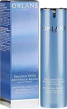 Parfumuri și produse cosmetice Emulsie pentru față - Orlane Anti-Fatigue Absolute Detox Emulsion