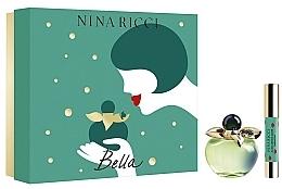 Parfumuri și produse cosmetice Nina Ricci Bella - Set (edt/80ml + lipstick)