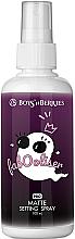 Parfumuri și produse cosmetice Fixator de machiaj - Boys'n Berries Fabooliser Pro Matte Setting Spray