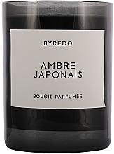 Parfumuri și produse cosmetice Lumânăre aromată - Byredo Fragranced Candle Ambre Japonais