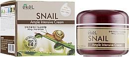 Parfumuri și produse cosmetice Cremă cu mucină de melc pentru față - Ekel Ample Intensive Cream Snail