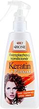 Parfumuri și produse cosmetice Balsam pentru păr - Bione Cosmetics Keratin + Panthenol Leave-in Conditioner