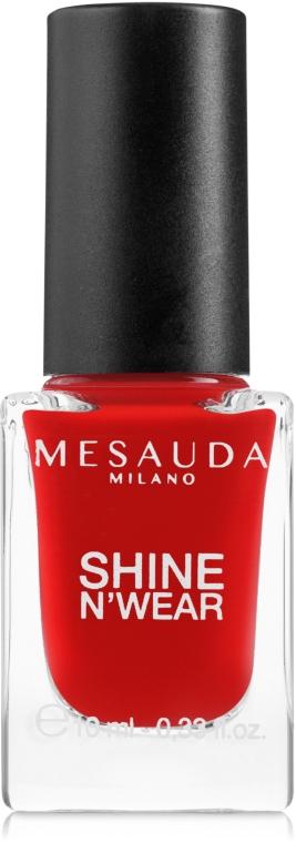 Lac de unghii - Mesauda Milano Shine N`Wear Nail Polish