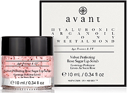 Parfumuri și produse cosmetice Scrub pentru buze - Avant Velvet Perfecting Rose Sugar Lip Scrub