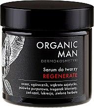 Ser regenerant pentru față - Organic Life Dermocosmetics Man — Imagine N2