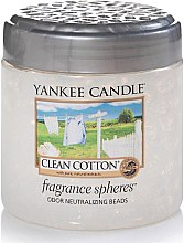 Parfumuri și produse cosmetice Sferă aromatică - Yankee Candle Clean Cotton Fragrance Spheres