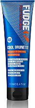 Parfumuri și produse cosmetice Șampon cu efect de tonifiere - Fudge Cool Brunette Blue-toning Shampoo Reviews