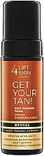 Parfumuri și produse cosmetice Spumă auto-bronzantă pentru corp - Lift4Skin Get Your Tan! Self Tanning Bronze Foam