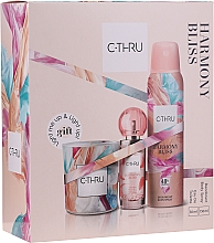Parfumuri și produse cosmetice C-Thru Harmony Bliss - Set (deo/150ml + edt/30ml + candle/1pcs)
