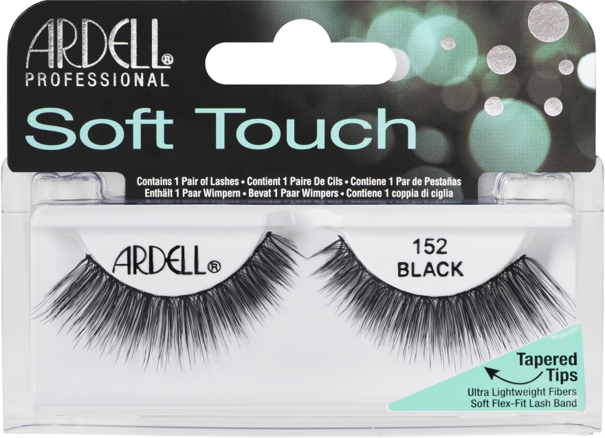 Extensii gene - Ardell Soft Touch Eye Lashes Black 152