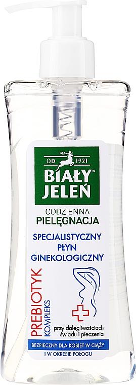 Emulsie pentru igiena intimă cu complex de prebiotice - Bialy Jelen Hypoallergenic Emulsion For Intimate Hygiene — Imagine N1