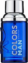 Parfumuri și produse cosmetice Benetton Colors Man Blue - Apă de toaletă