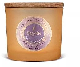 """Parfumuri și produse cosmetice Lumânăre aromată, în pahar """"Lavandă"""" - Flagolie Fragranced Candle Lavender Relax"""