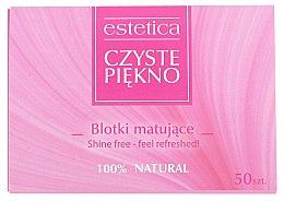 Parfumuri și produse cosmetice Șervețele matifiante pentru față - Czyste Piekno