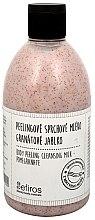 Parfumuri și produse cosmetice Lapte de duș - Sefiros Body Peeling Cleansing Milk Pomegranate