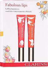 Parfumuri și produse cosmetice Set - Clarins Fabulous Lips Set (lip/gloss/2x12 ml)