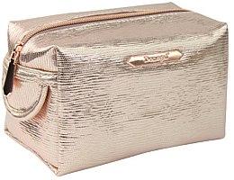 """Parfumuri și produse cosmetice Trusă cosmetică """"Rose Gold"""" dreptunghiulară 4992, aurie - Donegal"""