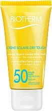 Parfumuri și produse cosmetice Cremă de protecție solară pentru față - Biotherm Sun Protection Creme Solaire Dry Touch SPF 50