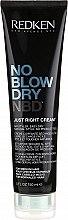 Parfumuri și produse cosmetice Cremă pentru aranjarea părului - Redken No Blow Dry Just Right Cream