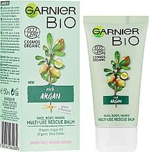 Parfumuri și produse cosmetice Cremă cu ulei de argan pentru față și corp - Garnier Bio Rich Argan Multi-Use Rescue Balm